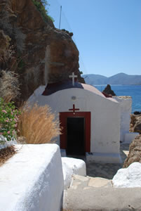 Chapel built out of a cave.