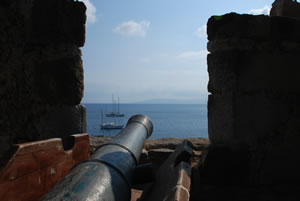 English Tower at Bodrum castle