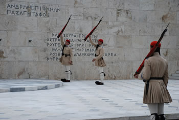 Athens - Changing the Guard